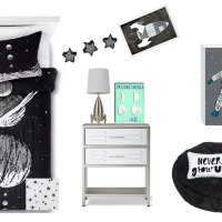 Outer Space Kids Room Design