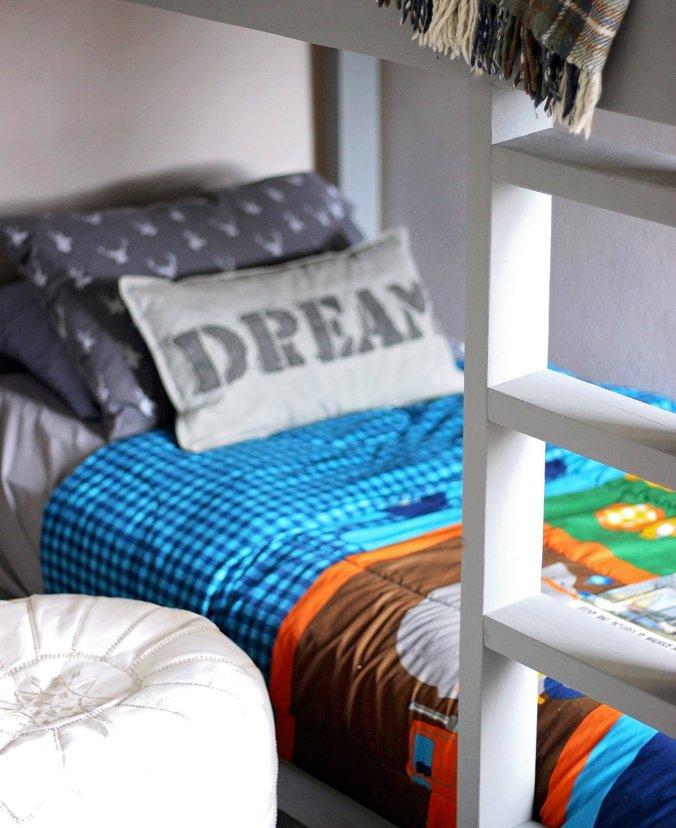 close up bed