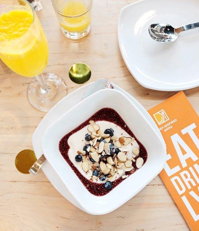 LYFE Kitchen Greek yogurt bowl