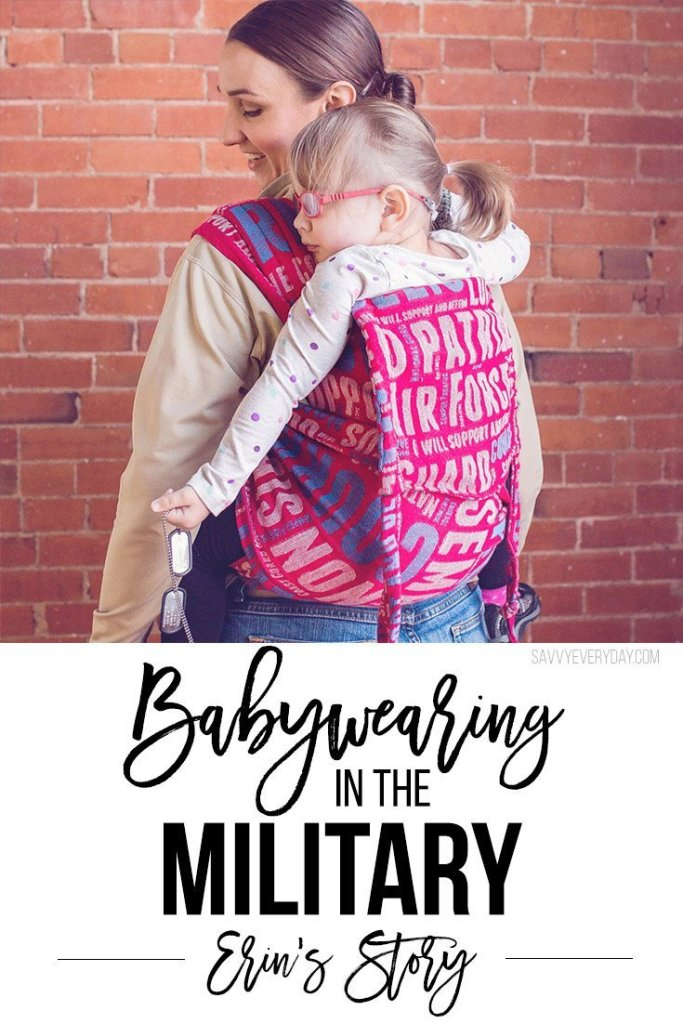 babywearing in the military
