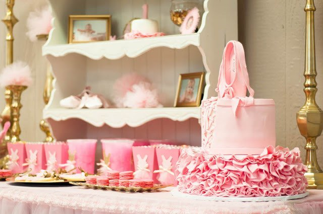 cake and cups