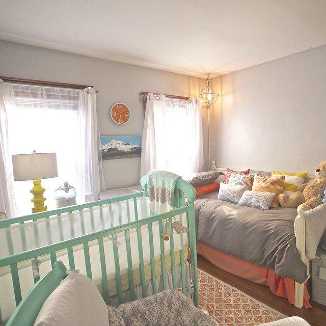 Liz Dean shared nursery room