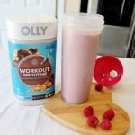 Peanut Butter Workout Smoothie
