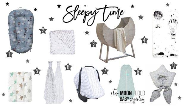 Star Registry Sleepy Time list