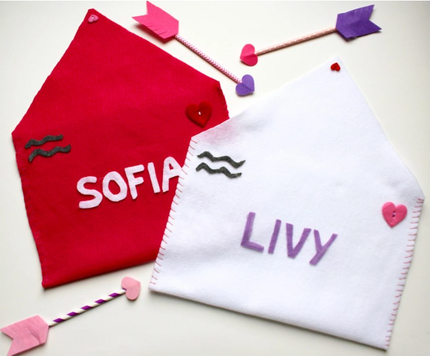 Valentine envelopes