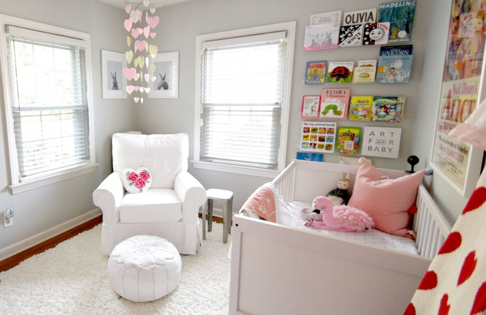 Alice in Wonderland un-themed nursery