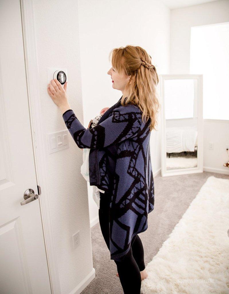 adjusting Nest Thermostat