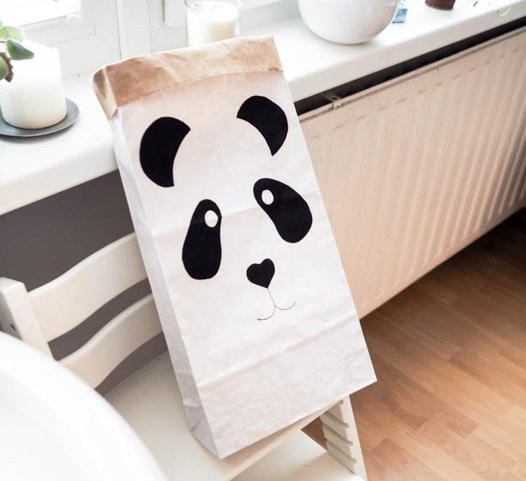 Panda party bag