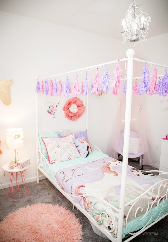 Whimsical Unicorn Bedroom Inspired By Mouse Magpie