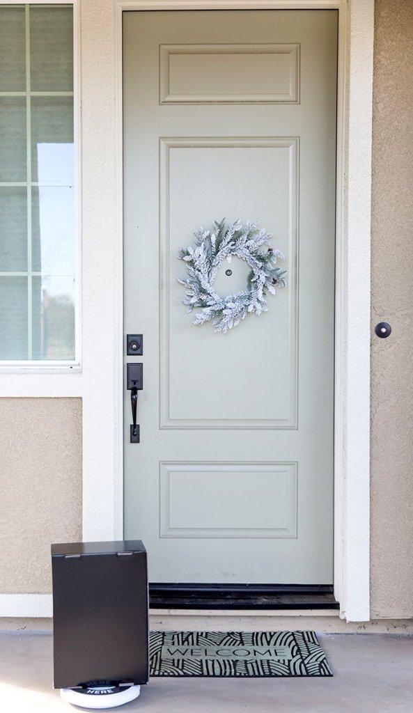 Package at the door