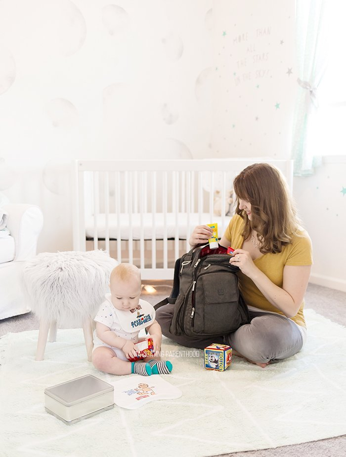 packing the diaper bag