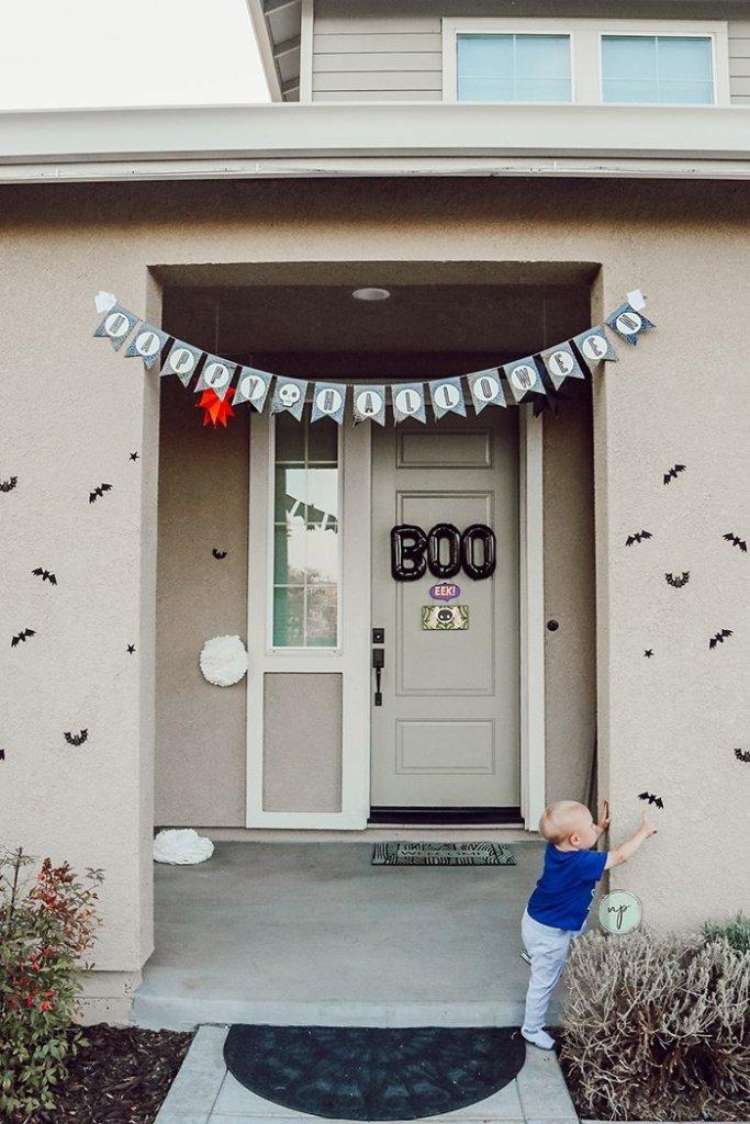 first Halloween decorations