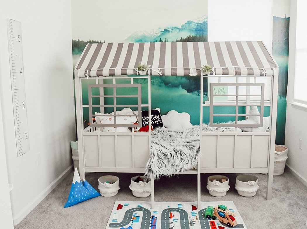Mountain Adventure Styled Toddler Bedroom