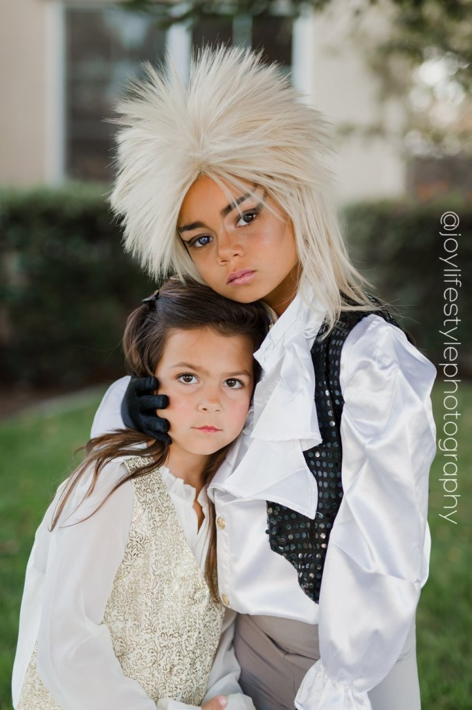 girls dressed as Labyrinth characters