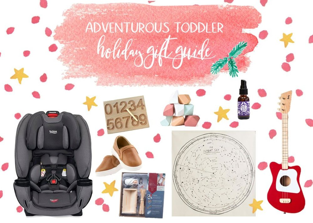 Roundup image showing products from the gift guide with the guide title