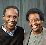 Mutua and Stephanie Mahiaini