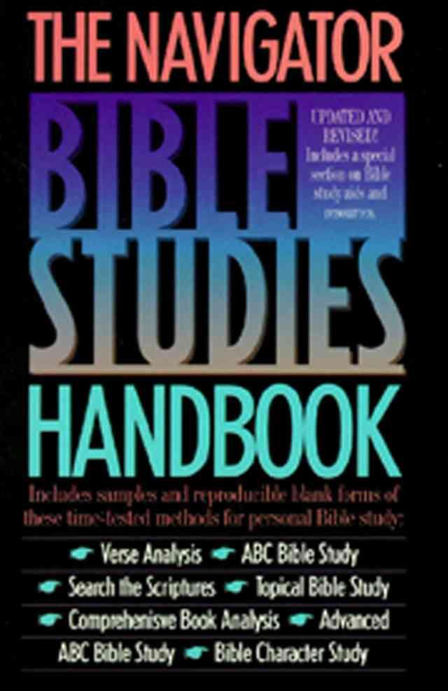 The Navigator Bible Studies Handbook | The Navigators
