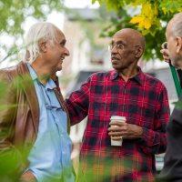 Share God's Love With Your Neighbors | Navigators Discipleship Resource | Senior neighbors friendly talk