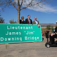 Bridge Named After Jim Downing