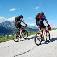Finding God and Unlikely Friends at Rock Bottom | Navigators Responders | Bikers on the mountain road