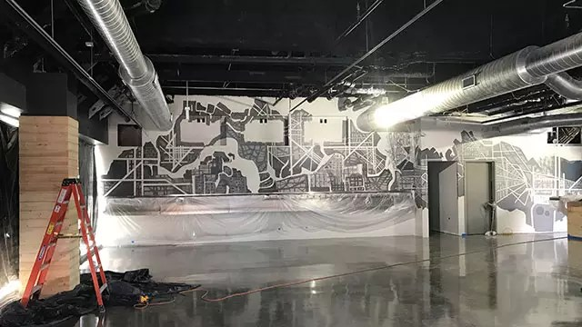 Navigator Taproom - Pour Your Own Beer Mural