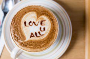 Cappuccino coffee beverage