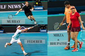 Tennis IPTL sport COLLAGE