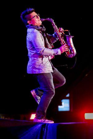 Saxophonist musician artist