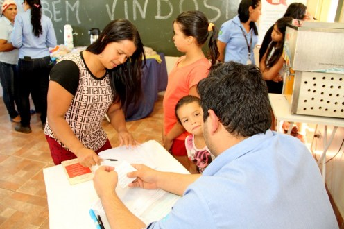 15.07.19 - Gerência de Saúde e Usina Rio Amambai realizam ação de saúde para comunidade do Beiro Rio - Foto Assessoria de Imprensa. (2)