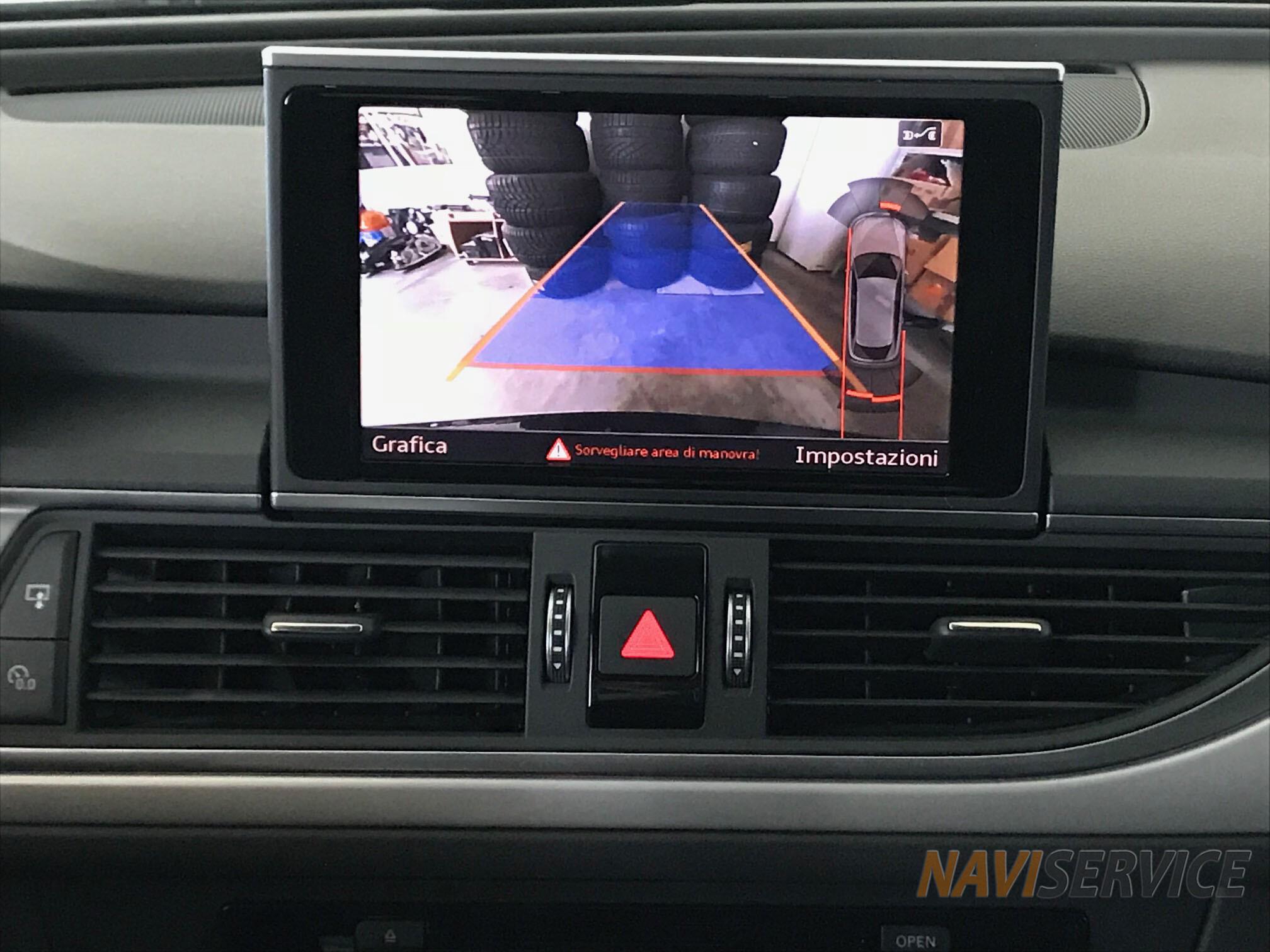 Camera retromarcia Audi a6