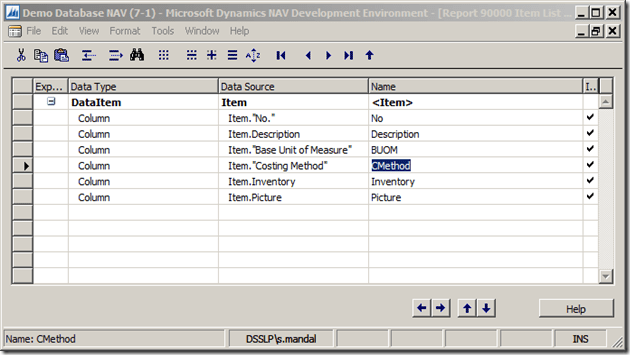 Interactive Reports in NAV 2013 R2 (3/6)