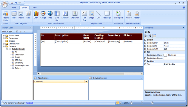Interactive Reports in NAV 2013 R2 (4/6)