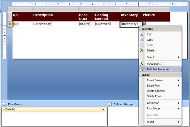 Interactive Reports in NAV 2013 R2–Drill Down (6/6)