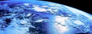 impatto ambientale vista del pianeta terra dallo spazio