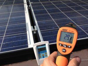 strumento di misura di irraggiamento solare e di temperatura gestione e verifica prestazioni impianto fotovoltaico