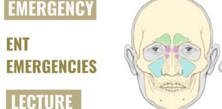 Emergencies in Ear, Nose and Throat – Detailed explanation – Emergency Medicine