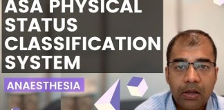 ASA – American Society of Anaesthesiologists Grading System – Detailed explanation