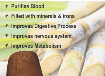 Why use natural (unprocessed) jaggery