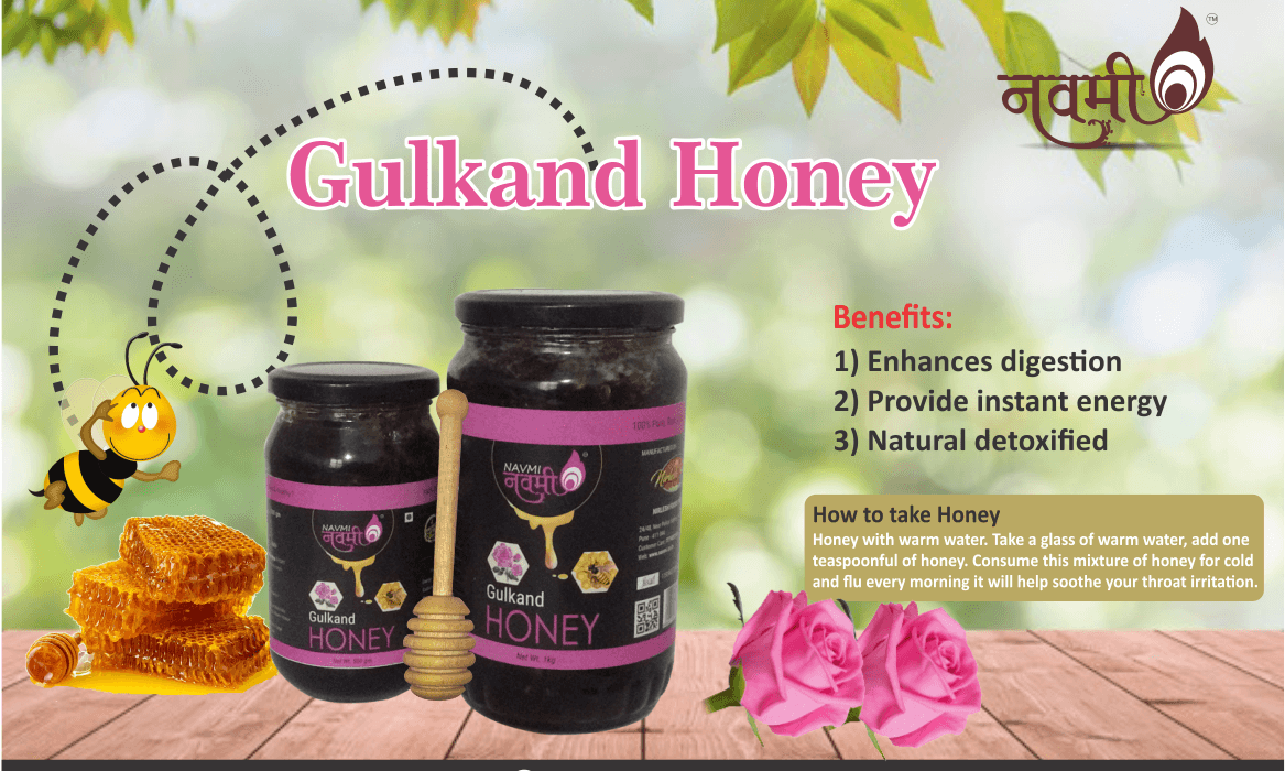 Gulkand Honey Benefits