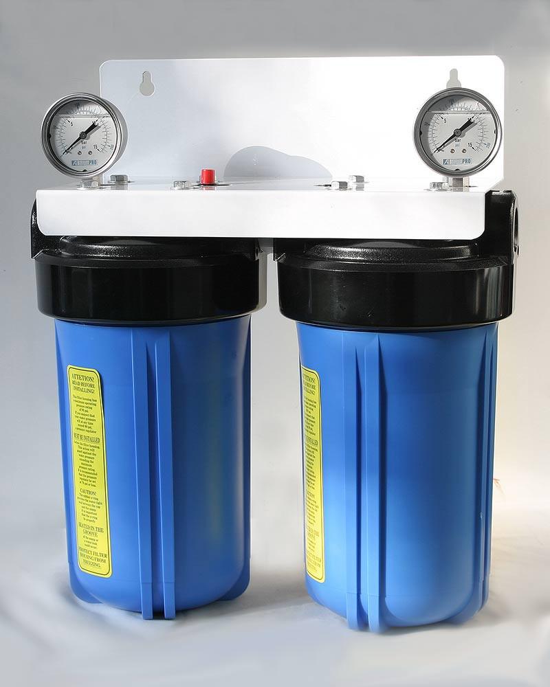 purificateur d eau big duo aragon pour arrivee d eau generale