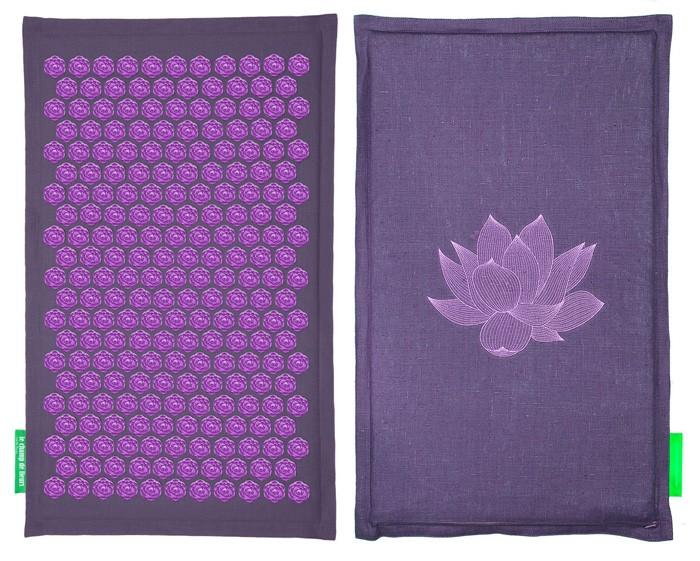 tapis des fleurs soulage le mal de dos