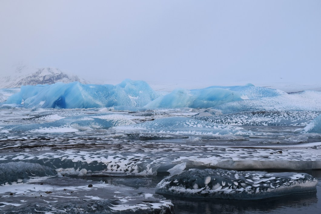 """Jökulsárlón"" Glacier Lagoon, Iceland. 2015 © Navroop Sahdev. All rights reserved."