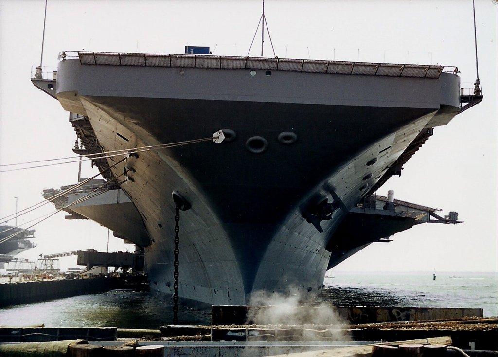 Aircraft Carrier Flight Deck View