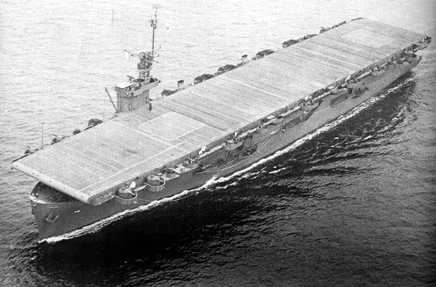 Escort Carrier Photo Index USS SAVO ISLAND CVE 78