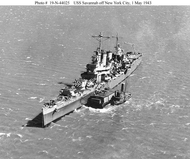 Cruiser Photo Index CL 42 USS SAVANNAH Navsource