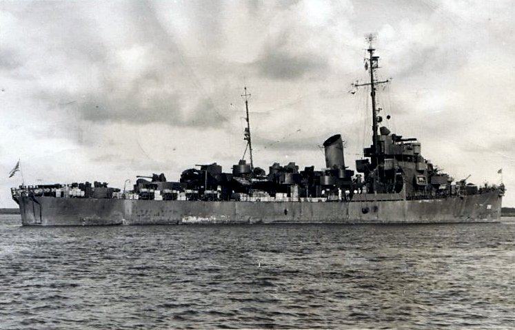 USS Janseen DE-396