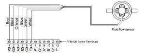M4AR  Maretron Fuel Flow Sensor 325 LPM (07966 GPM
