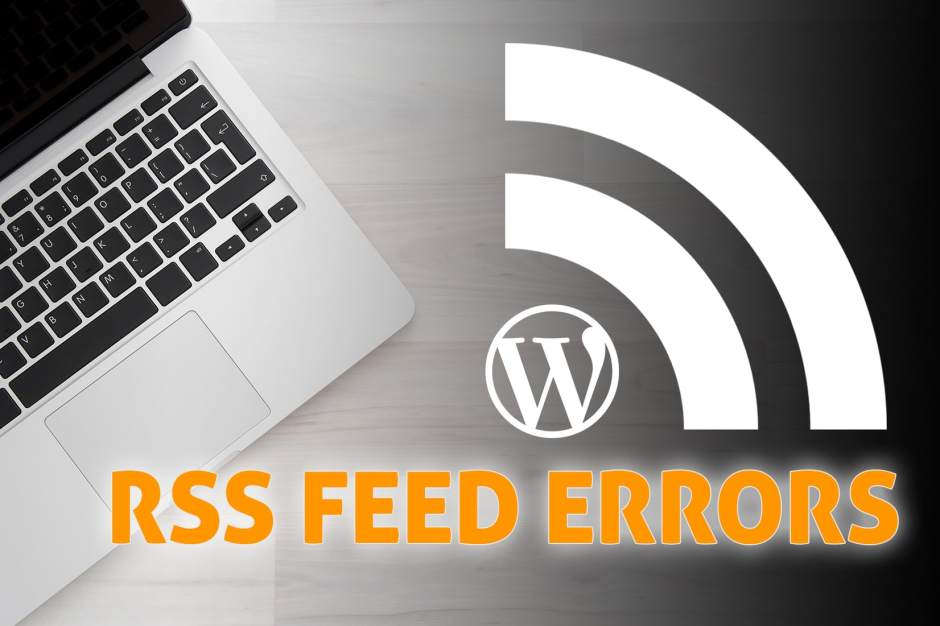 wordpreee rss feed error