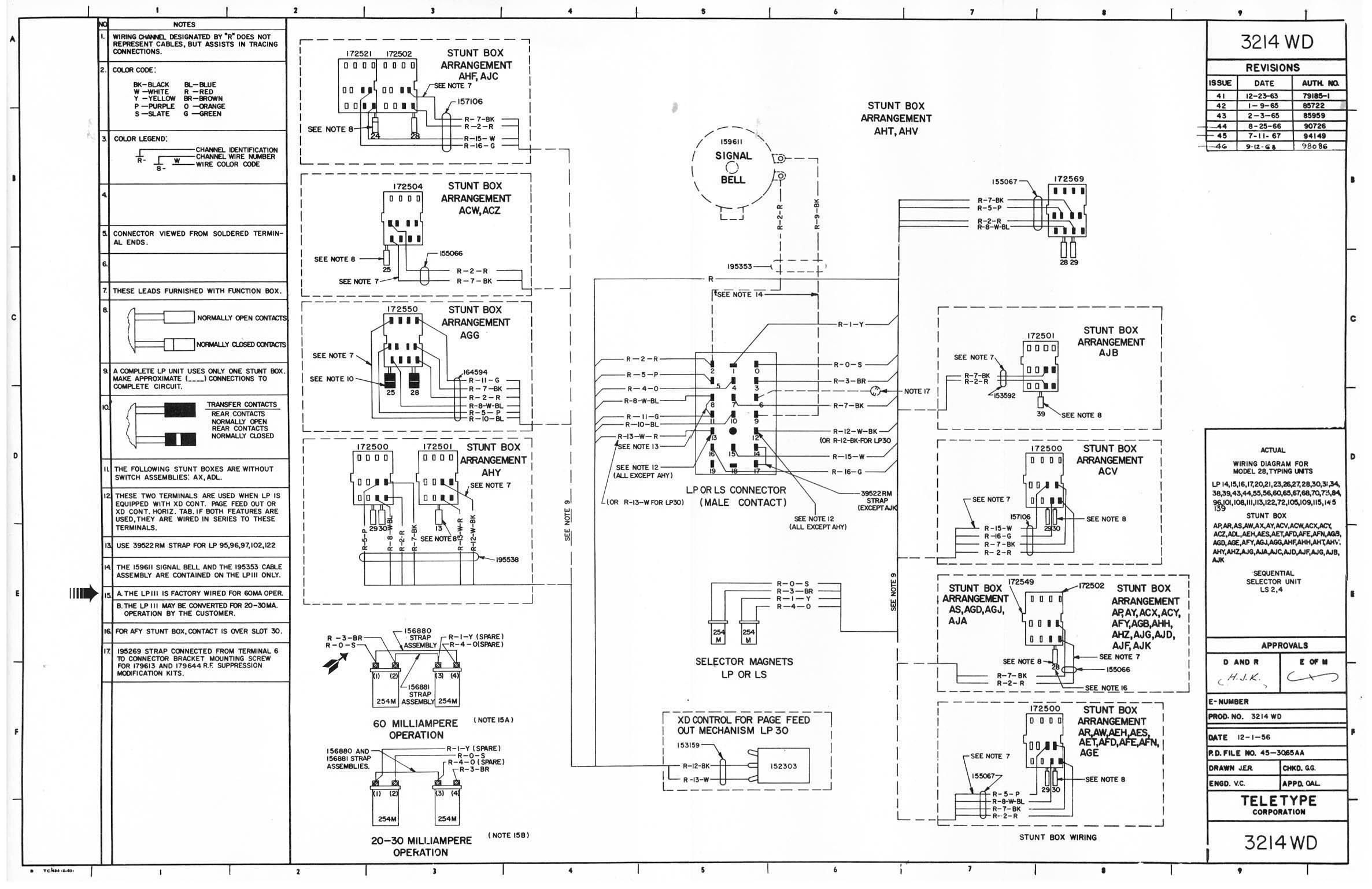 Navy Wiring Diagram Run List