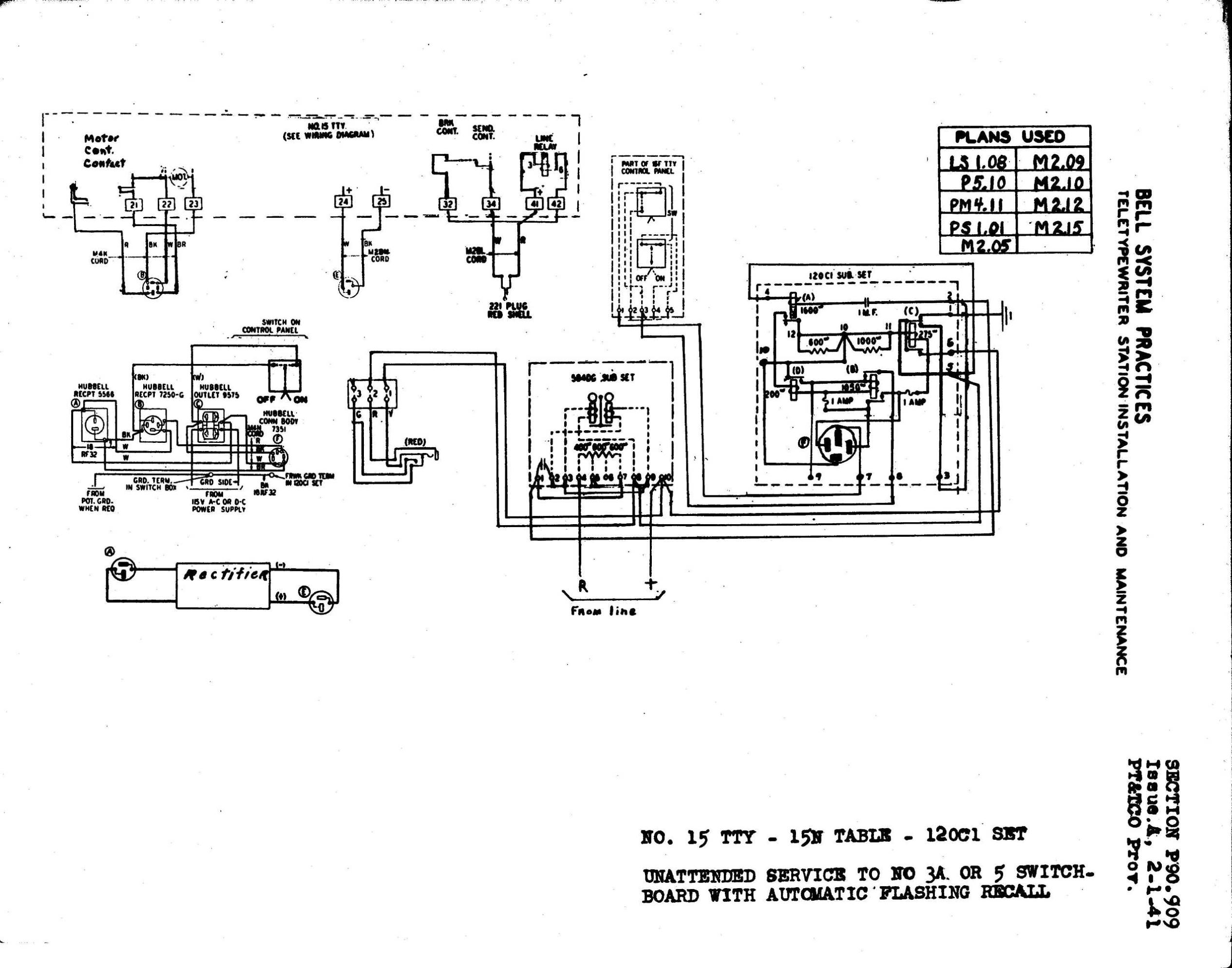 Teletype Corp Maintenance Installation Operation And